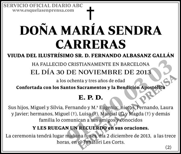 María Sendra Carreras